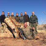 Giraffenjagd in Namibia
